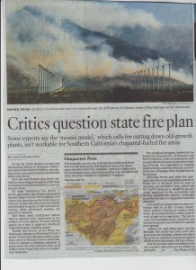 California State Fire Plan pg 1